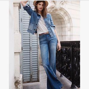 flea market flare jeans in maribel wash